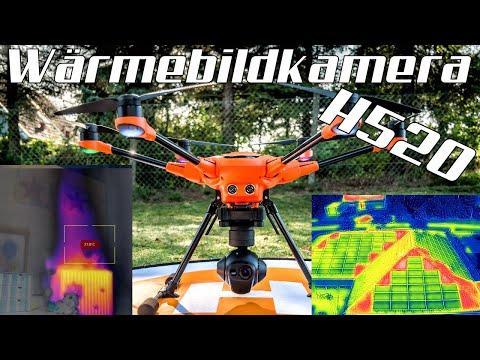 Wärmebildkamera CGO-ET 🔎 für den Yuneec H520 Kopter - Test in Deutsch