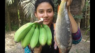 Download Video Fish and Green Banana Curry | Most Tasty and Healthy Easy Recipe | Cooking By Street Village Food MP3 3GP MP4