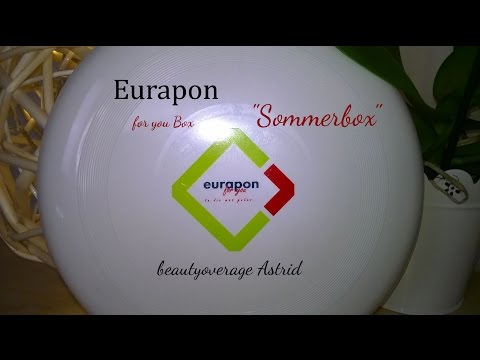 Eurapon for you Box - Sommer-Edition - 20 Produkte - beautyoverage Astrid