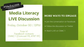 Media Literacy: Q&A Discussion with the Experts