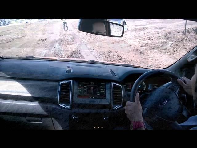 New Ford Ranger 2015 Test drive Wildtrak 4x4