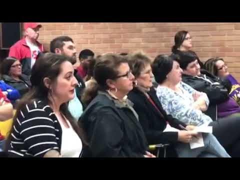 Teacher gets arrested at Vermilion Parish school board meeting