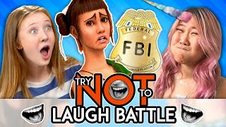 Try Not To Laugh Or Smile While Watching BATTLE   Mean Compliments (Ep. # 152)