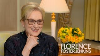 Meryl Streep Talks About Her Role In Florence Foster Jenkins