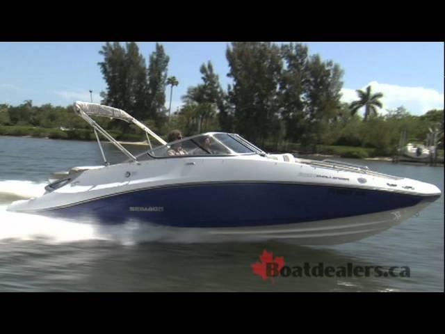 2012 / 2011 Sea-Doo 230 Challenger SE Sport Boat / Jet Boat Review