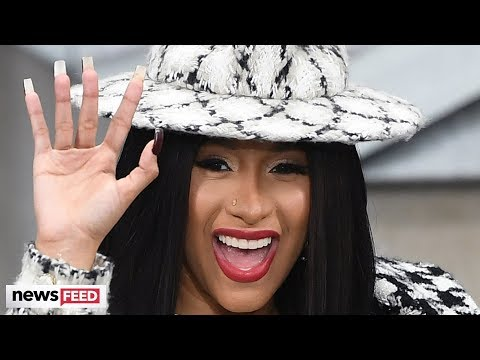 Cardi B REVEALS Bizzare Name Of New Album & Biggest Tattoo Regret!