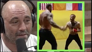 Joe Rogan on Conor McGregor Sparring The Mountain from Game of Thrones (Hafthor Bjornsson)