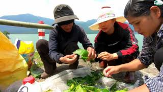 Nấu cơm Lam giữa cảnh tiên - Hương vị đồng quê - Bến Tre - Miền Tây