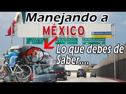 Que NECESITO para VIAJAR a Mexico en CARRO de Vacaciones   El pelon de Chicago