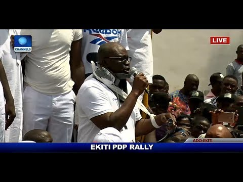 Fayose: Ekiti is under seige, Governor claims policemen want to kill him