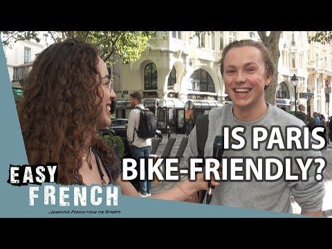 Do Parisians use bikes? | Easy French 88
