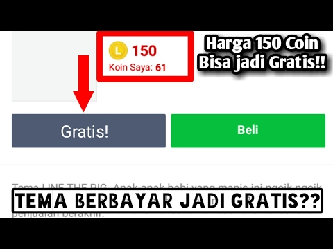 Video Cara Mendownload / Mengubah Tema Line Secara Gratis | Tutorial Android