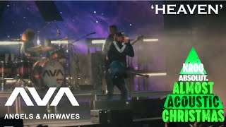 Angels and Airwaves - Heaven LIVE • KROQ Almost Acoustic Christmas 2019