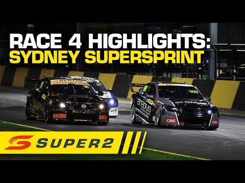 SUPERCARS シドニースーパースプリント レース#4ハイライト動画