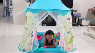Lều Bóng Hoàng Tử Cho Bé ❤ Ngôi Nhà Mới Của Tin ❤Kids Toy Media❤
