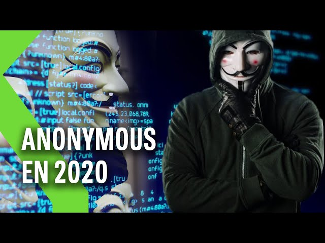 Por qué ANONYMOUS es tendencia 2020