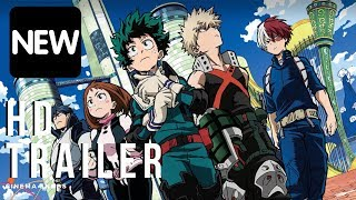 My Hero Academia: The Movie Trailer (HD) Boku no Hero Academia the Movie
