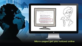 Micro-pages get you noticed online - David's Story Part 2