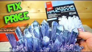 Выращиваем Кристаллы из Фикс Прайс Эксперименты