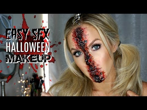 Easy Special Effects Makeup | Halloween Makeup Tutorial