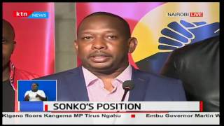 Mike Sonko gives Peter Kenneth free advice on what to do about the results announced so far