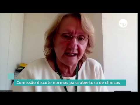 Comissão discute normas para abertura de clínicas - 24/06/20