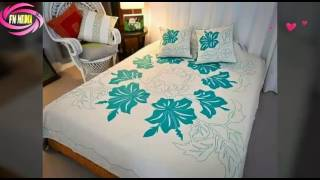 Bed Sheet Design Painting मफत ऑनलइन वडय