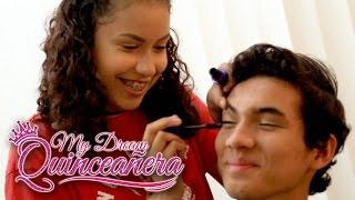 Doing My Boyfriends Makeup - My Dream Quinceañera - Mia Ep 1