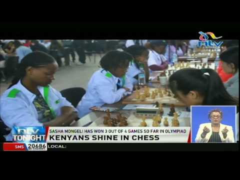 Sasha Mongeli wins three out of four games so far in chess Olympiad