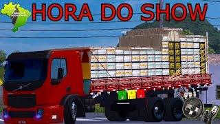 Euro Truck Simulator 2 - Volvo VM Verdureiro + Diretão  - Mapa Eldorado - Logitech G27