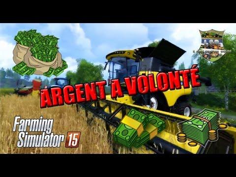 comment augmenter l'argent dans farming simulator 2011