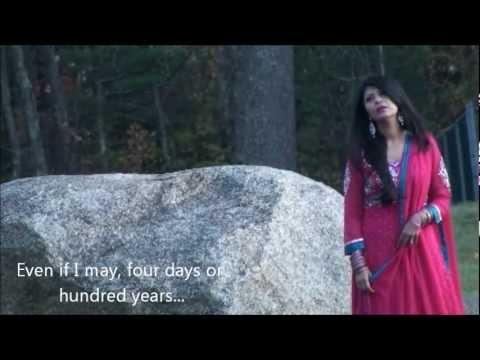 Main Jeena Tere Naal (Punjabi Song) with subtitle - Dr. Adeeba Akhtar