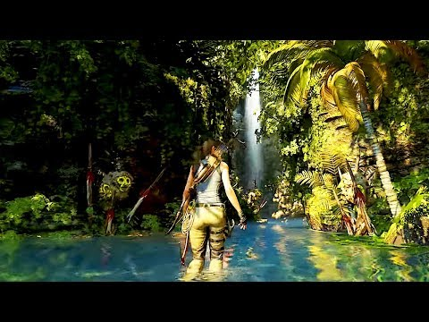 SHADOW OF THE TOMB RAIDER Jungle Gameplay NEW Demo Walkthrough (2018) PS4/Xbox One/PC