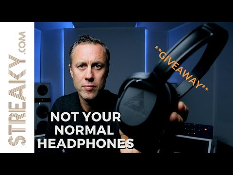 NOT YOUR NORMAL HEADPHONES! – AUDEARA A-01 HEADPHONE REVIEW & GIVEAWAY | Streaky.com