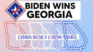 Joe Biden Now LEADING in the Battleground State of Georgia