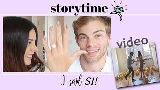 STORYTIME: Así fue como dije que SI, ACEPTO! | Video de la propuesta