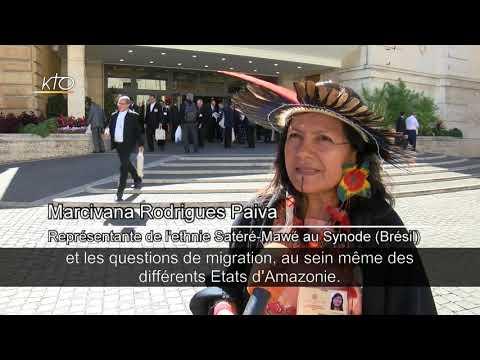 """""""La maison commune"""", ou l'Amazonie à Rome"""