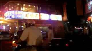 preview picture of video 'Jiangmen, Guangdong(China) nightview - 広東省江門市の夜'