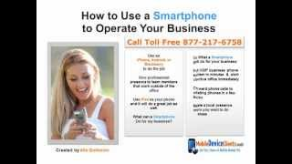 How to Use a Smartphone to Operate Business