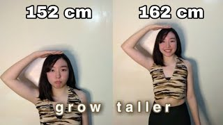 How to Grow Taller 2-4 inches in 1 week