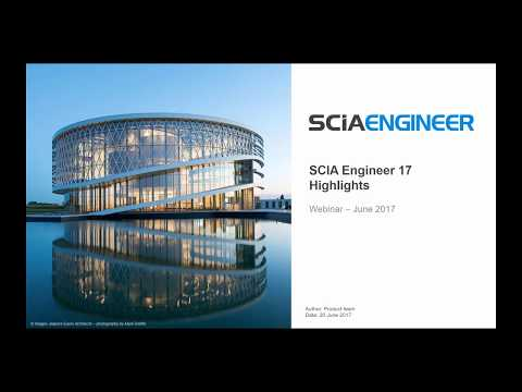What's new in SCIA Engineer 2017