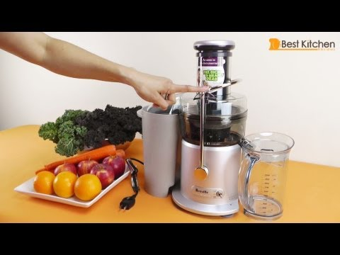 Video Breville JE98XL Juice Fountain Plus 850-Watt Juice Extractor Review
