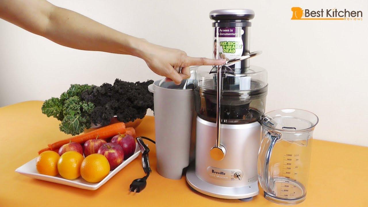Breville JE98XL Juice Fountain Plus 850-Watt