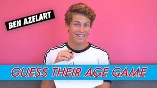 Ben Azelart - Guess Their Age