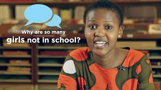 1 in 5 girls is not in school. Find out what you can do about it on the Youth Effect!