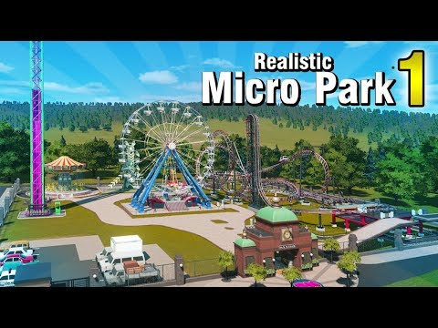 Building a Micro Park! (1 of 2) - Planet Coaster