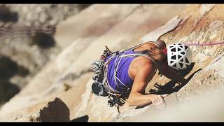 Babsi and Jacopo Send Zodiac (5.13d) on El Cap