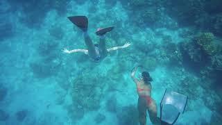 preview picture of video 'เรามาถอดชูชีพฝึกskin divingกันน ที่ทริปทะเลตรัง เกาะรอก@ มดตะนอยรีสอร์ทตรัง'