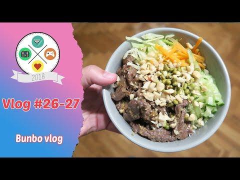 Vlog  #26- 27: Bunbo vlog