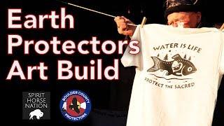 Earth Protectors Art Build